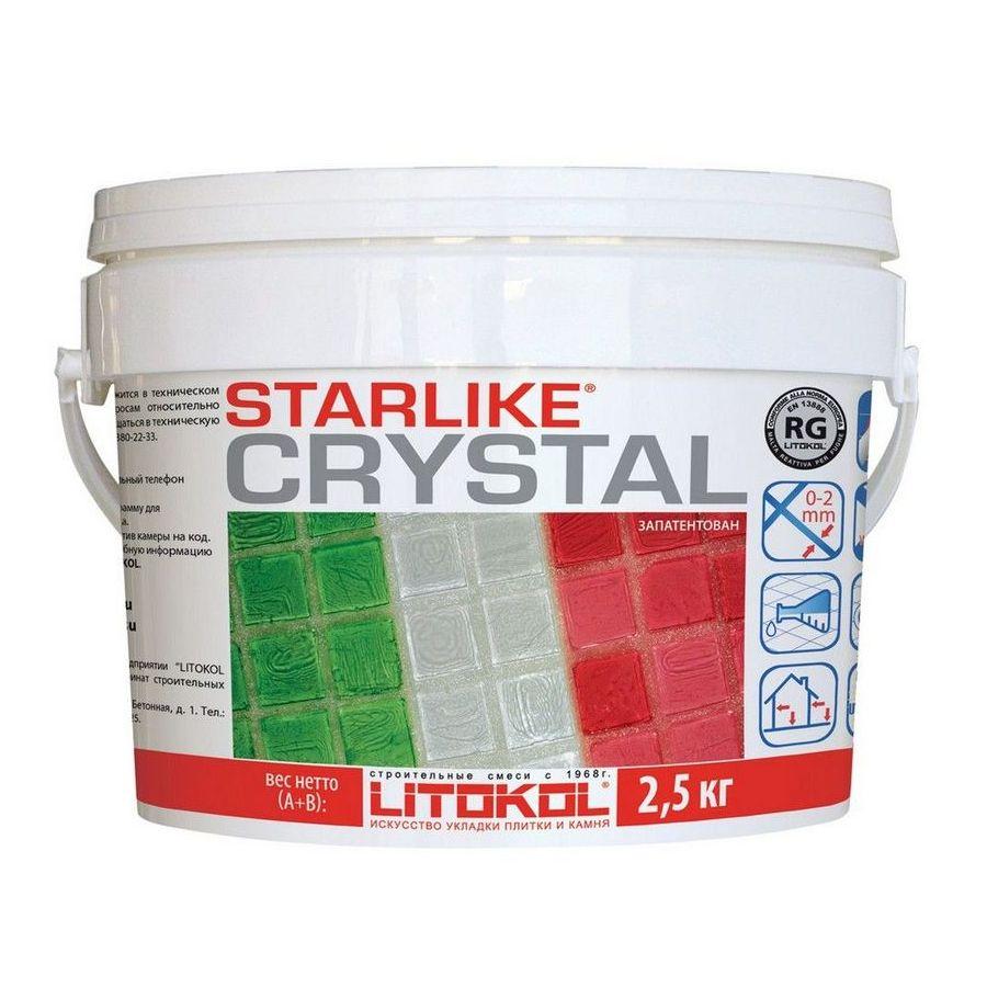 ЗАТИРКА ШВОВ LITOCHROM STARLIKE №350, 2,5кг Cristal
